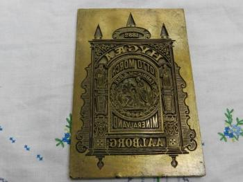 Other Curiosities - brass - 1882